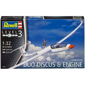 Revell Germany Glider Duo Discus & engine 1:32 [2016 re-issue]