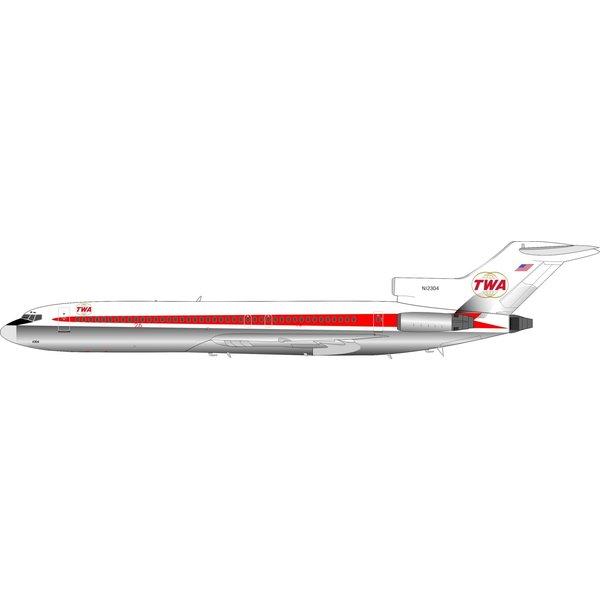 InFlight B727-200 TWA Starstream livery N12304 1:200 +Preorder+