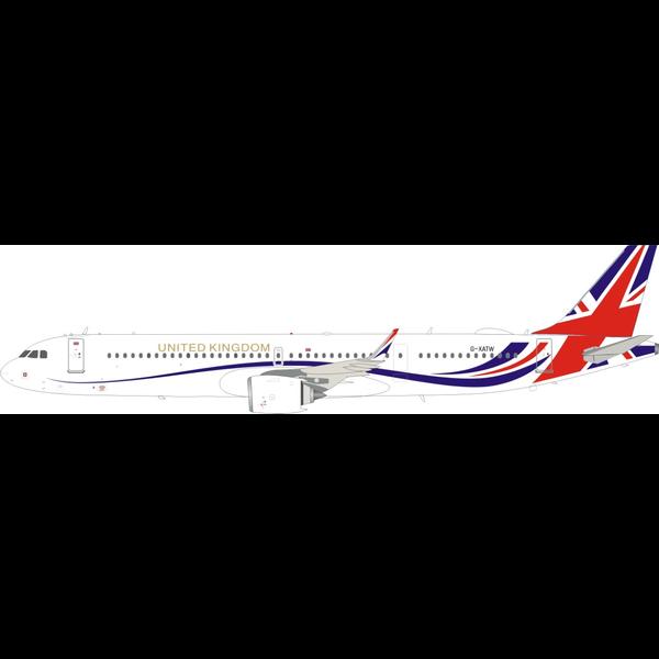 InFlight A321neo Titan Airways UNITED KINGDOM G-XATW  1:200 +Preorder+