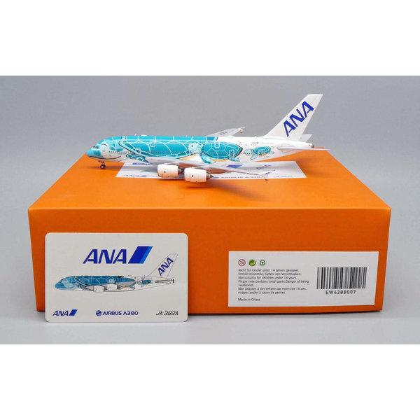 JC Wings A380-800 ANA Flying Honu Kai Green JA382A 1:400