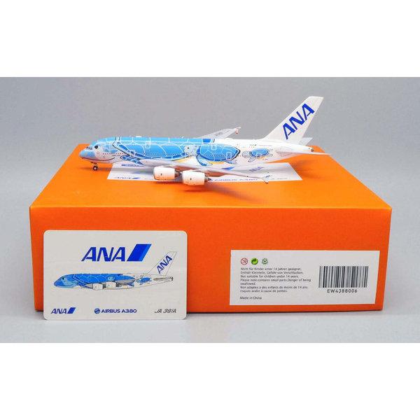 JC Wings A380-800 ANA Flying Honu Lani Blue JA381A 1:400