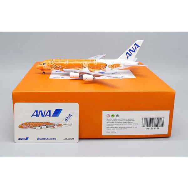 JC Wings A380-800 ANA Flying Honu KaLa Red JA383A 1:400