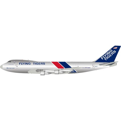 B747-200F(SCD) Flying Tigers N810FT 1:200 polished +Preorder+