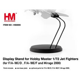 Hobby Master Display stand for 1:72 scale F/A-18C/D/E/F & Mirage 2000 models.