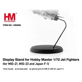 Hobby Master Display stand for 1:72 scale MiG-21, MiG-23 & F-1 JASDF models.