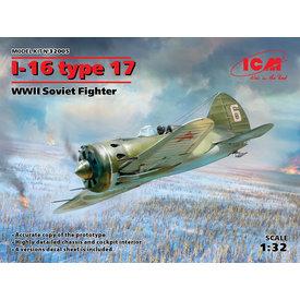 ICM Model Kits Polikarpov I-16 Type 17 1:32
