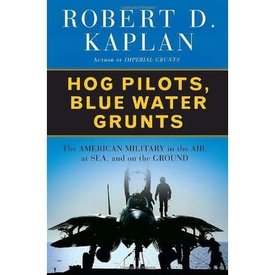 Random House Hog Pilots, Blue Water Grunts: American Military HC +SALE+