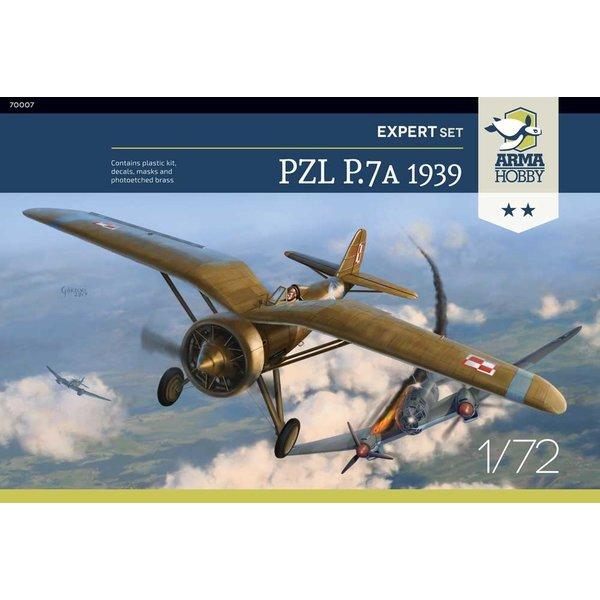 Arma Hobby PZL P.7a Expert Set 1939 1:72 Kit