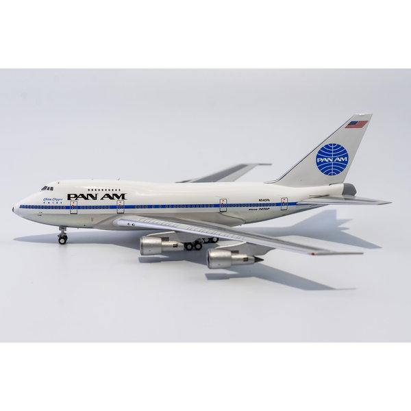 NG Models B747SP Pan Am black titles China Clipper N540PA 1:400