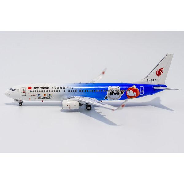NG Models B737-800W Air China 2022 Olympics B-5425 1:400