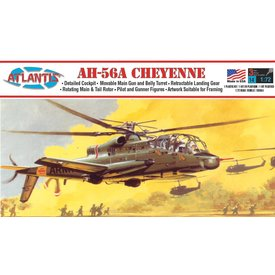 Atlantis Cheyenne Helicopter 1:72 [Ex-Aurora]