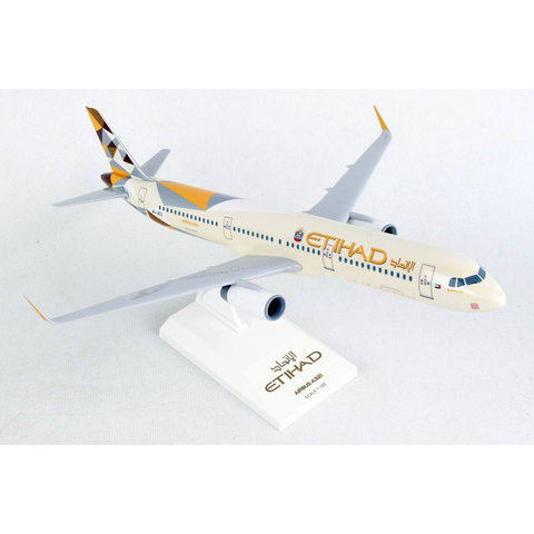 A321S Etihad 2014 livery 1:150 sharklets with stand +NEW+
