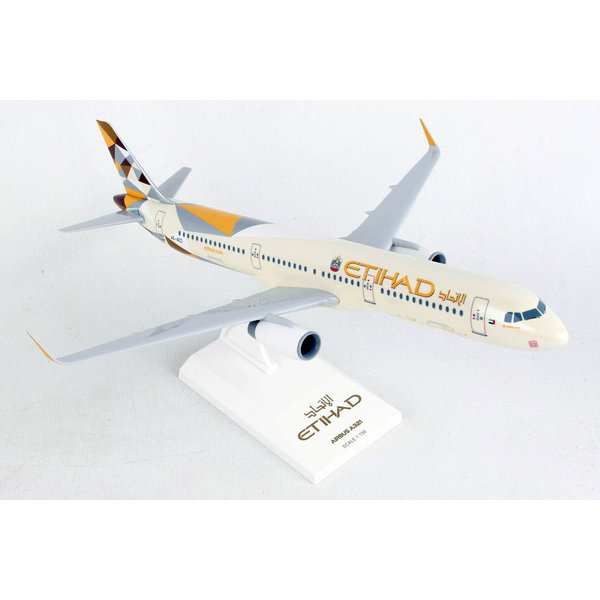 SkyMarks A321S Etihad 2014 livery 1:150 sharklets with stand +NEW+