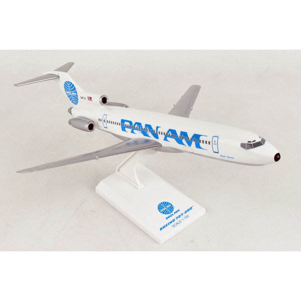SkyMarks B727-200 Pan Am Billboard Clipper Charmer N4734 1:150 with stand +NEW+