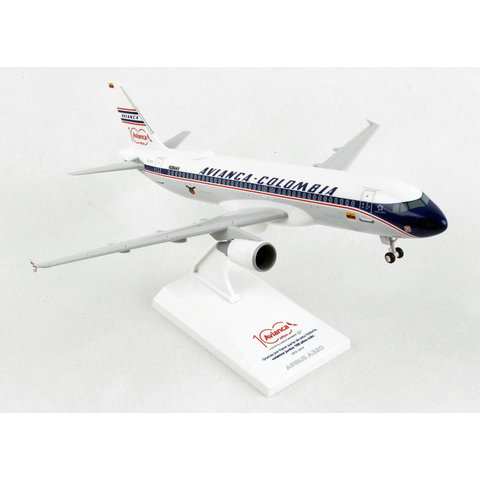 A320 Avianca Columbia Retro Livery 1:150 with gear and stand