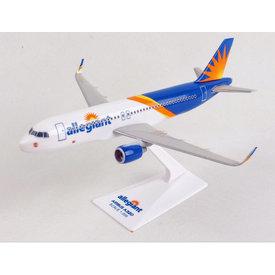 Skymarks Lite A320S Allegiant 1:200 Scimitars with stand Skymarks Lite