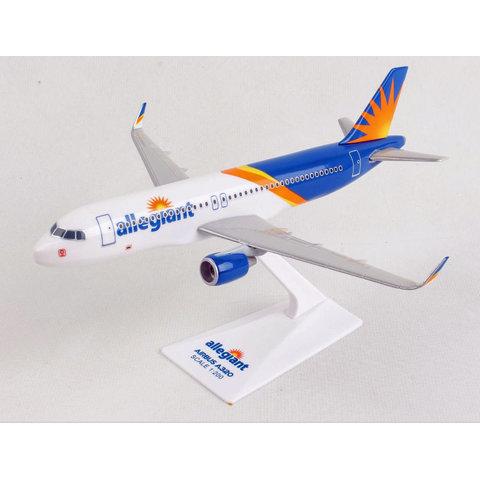 A320S Allegiant 1:200 Scimitars with stand Skymarks Lite