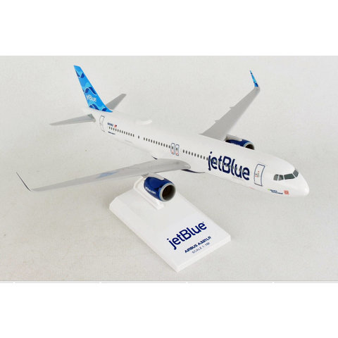 A321neo JetBlue Allow Me To Introduce Myself 1:150 with stand +NEW+