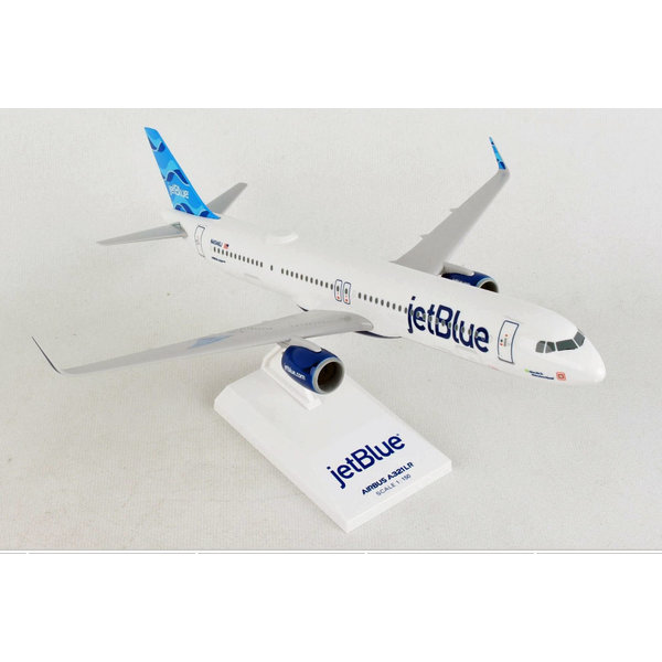 SkyMarks A321neo JetBlue Allow Me To Introduce Myself 1:150 with stand +NEW+