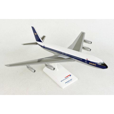B707-300 BOAC Golden Speedbird G-AWHU 1:150 with stand