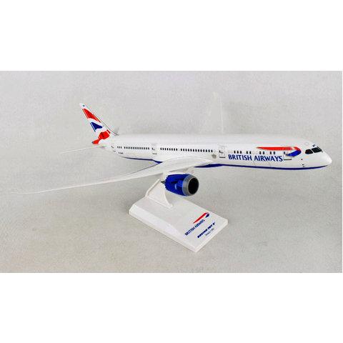 B787-9 Dreamliner British Airways Union Jack livery 1:200 with stand