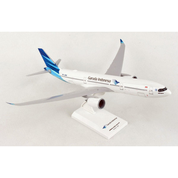 SkyMarks A330-900neo Garuda Indonesia 1:200 with stand