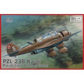 PZL 23B Karas - Polish Light Bomber [late production] 1:72