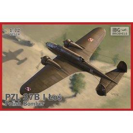 PZL.37B I Los- Polish Medium Bomber (twin tail ) 1:72