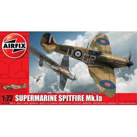 Airfix Spitfire 1a 1:72 Kit [New Tooling 2010 ]