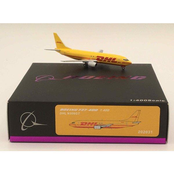 Panda Diecast Models B737-400 DHL N309GT 1:400