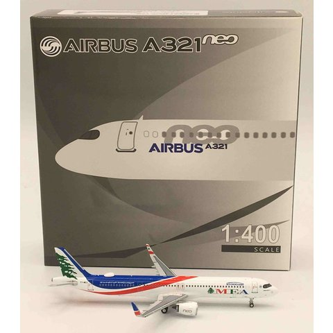 A321S MEA 10,000th A320 Family T7-ME3 1:400