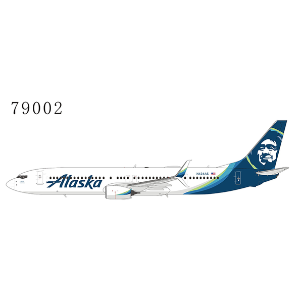 NG Models B737-900ER(S) Alaska 2015 livery N434AS 1:400 +New Mould+