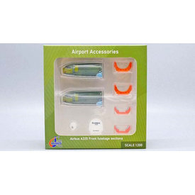 JC Wings Airbus A320 Front Fuselage Sections Set (2) 1:200