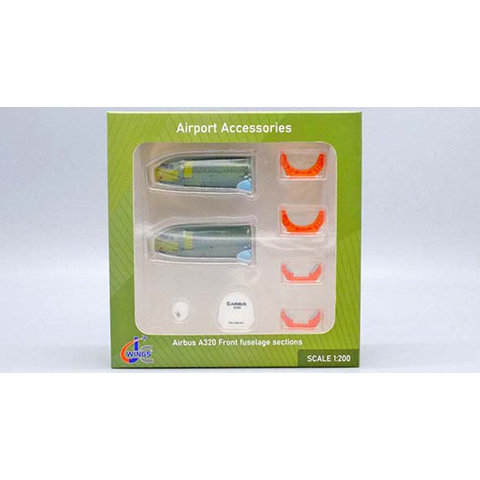 Airbus A320 Front Fuselage Sections Set (2) 1:200