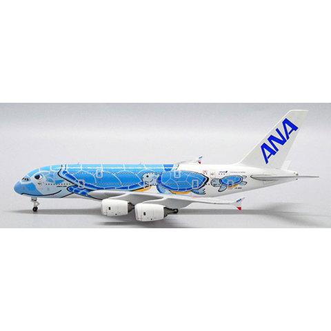 A380-800 ANA Flying Honu Lani Blue JA381A 1:500