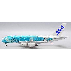 JC Wings A380-800 ANA Flying Honu Kai Green JA382A 1:500