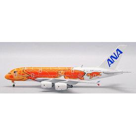 JC Wings A380-800 ANA Flying Honu KaLa Red JA383A 1:500