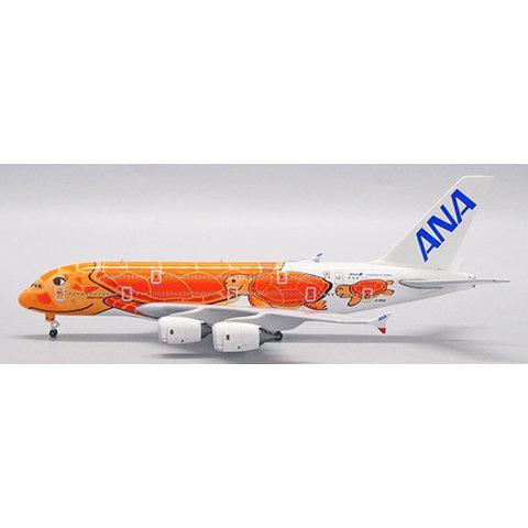 A380-800 ANA Flying Honu KaLa Red JA383A 1:500