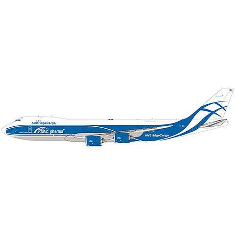 B747-8F Air Bridge Cargo Pharma VP-BBL 1:200