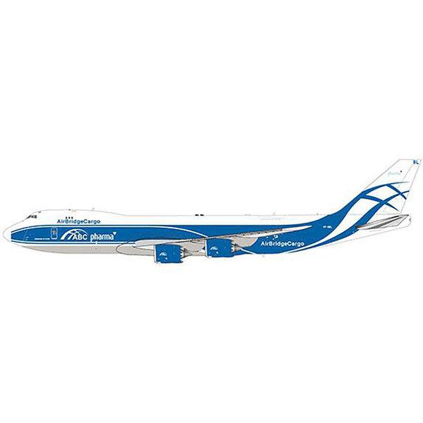 JC Wings B747-8F Air Bridge Cargo Pharma VP-BBL 1:200