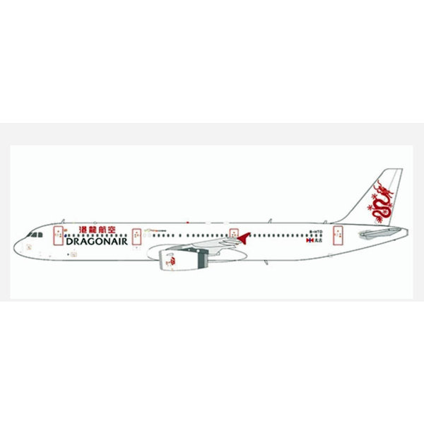 JC Wings A321 Dragonair old livery B-HTD 1:400 +preorder+