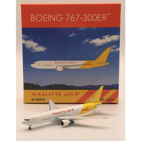 Phoenix B767-300BDSF Kalitta Air DHL livery N762CK 1:400