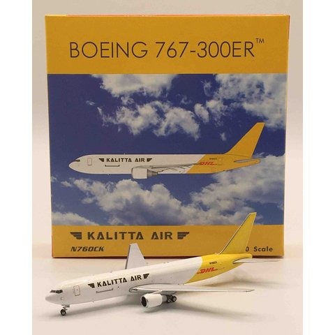 B767-300BDSF Kalitta Air DHL livery N760CK 1:400