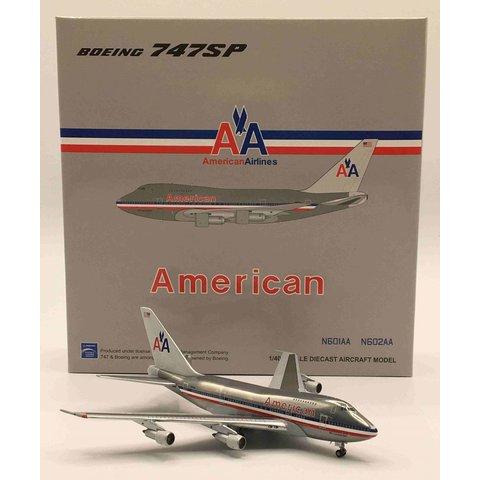 B747SP American Airlines AA N601AA 1:400 Polished