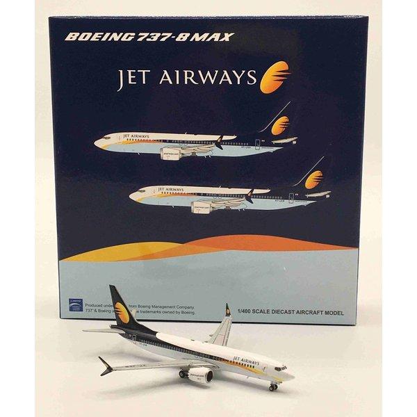 JC Wings B737-8 MAX Jet Airways VT-JXB 1:400