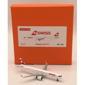 JC Wings A321neo Swiss International HB-JPA 1:400