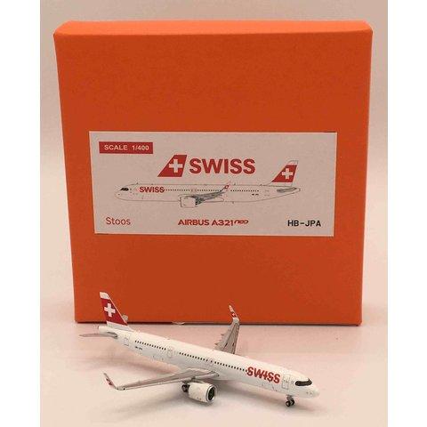 A321neo Swiss International HB-JPA 1:400