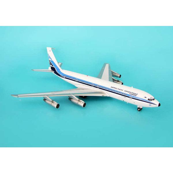 InFlight B707-300F Aerolineas Argentinas Cargo old livery 1:200 +NSI+