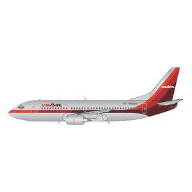 Gemini Jets B737-300 USAir 1980s N523AU 1:400 polished +preorder+