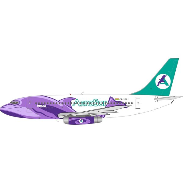 InFlight B737-200 Aerosur BUFEO CP-2561 1:200 with stand +Preorder+
